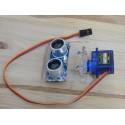 Capteur ultrason robotisé