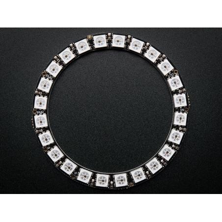 NeoPixel Ring - 24 x 5050 RGB LED avec Drivers