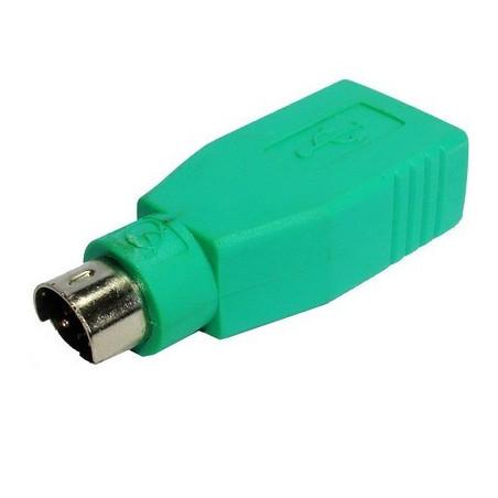 Adaptateur USB vers PS/2 pour brancher un clavier et une souris