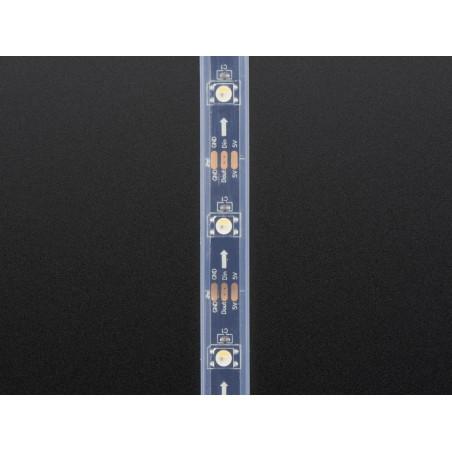 Ruban LED RGBW étanche 30 NeoPixel de 1m noir