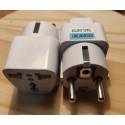 Adaptateur universel AU US UK UK EU + 2 ports USB