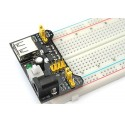 Module alimentation pour breadboard 3.3V et 5V