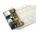 Module d'alimentation pour breadboard 3.3V et 5V
