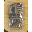 Assortiment de supports DIL 8, 14,16, 18,20, 24, 28 broches