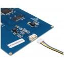 Ecran Nextion 7.0 pouces TFT LCD tactile résistif compatible Raspberry Pi 3/4 A+B+ Arduino