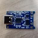 Chargeur Li-Ion 3,7V avec protection TP4056