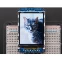 Adafruit Écran LCD TFT couleur de 2,2 pouces et 18 bits, microSD