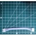 Câble nappe JST XH 2.54mm 5pins
