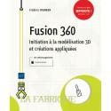 Livre Fusion 360 - Initiation à la modélisation 3D et créations