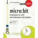 Livre micro:bit Programmez la carte avec MakeCode et MicroPython