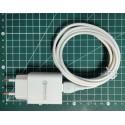 Alimentation 18W 3A et son câble USB-C