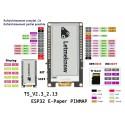 Carte de developpement ESP32 E-Paper E-Ink 2,13' LILYGO® TTGO T5 V2.3