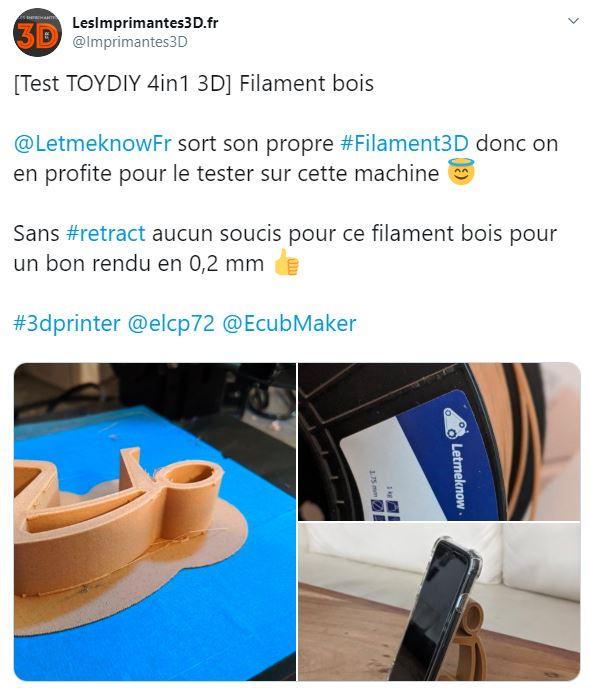 Twwet les imprimantes 3D.fr