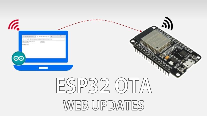 [Tuto] Programmation d'un ESP32 Basic Over The Air (OTA) avec l'IDE arduino