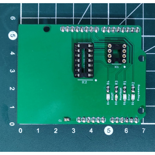 [Tuto] Programmez vos Attiny à l'aide du shield programmateur Letmeknow pour arduino !